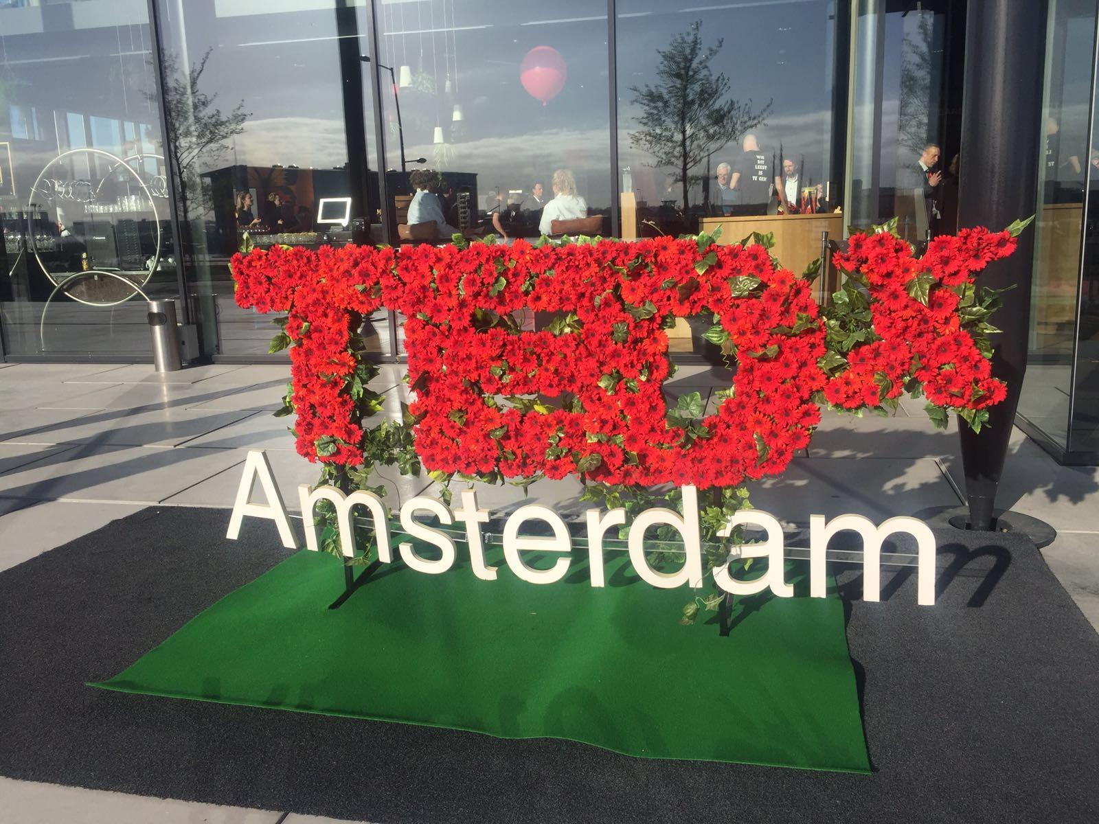 I was @TedX Amsterdam